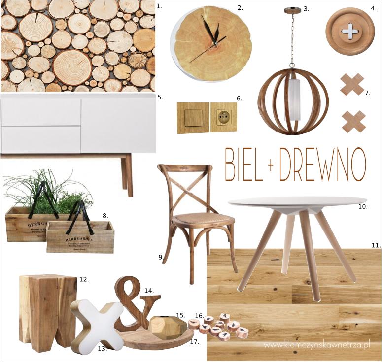 biel-we-wnętrzu-drewno