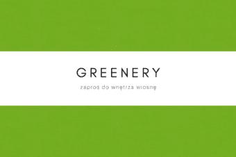 Greenery – zaproś do wnętrza wiosnę
